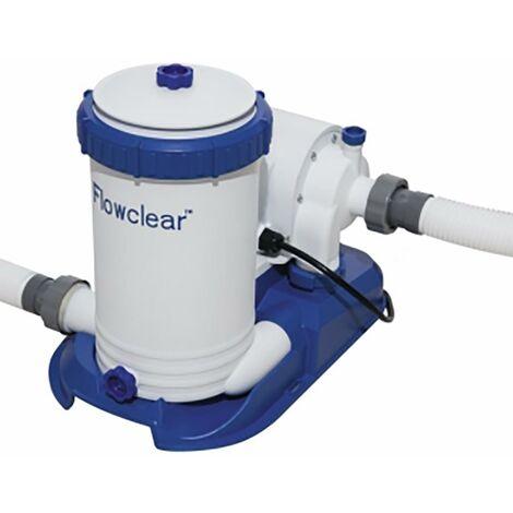 Depuradora agua piscina filtro 9463lt/h bestway 58391
