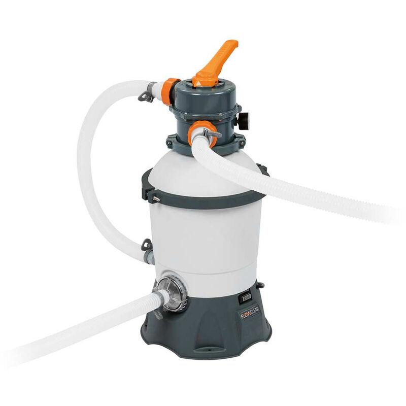Bomba de filtro de arena Bestway 58515 para piscinas 3,028 L Flowclear