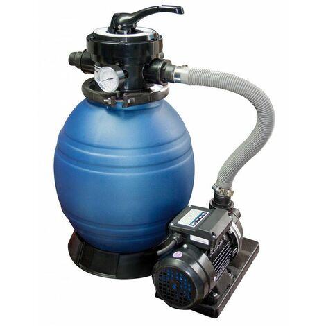 Depuradora de arena Monobloc 400 con bomba 0,5 hp - compacto