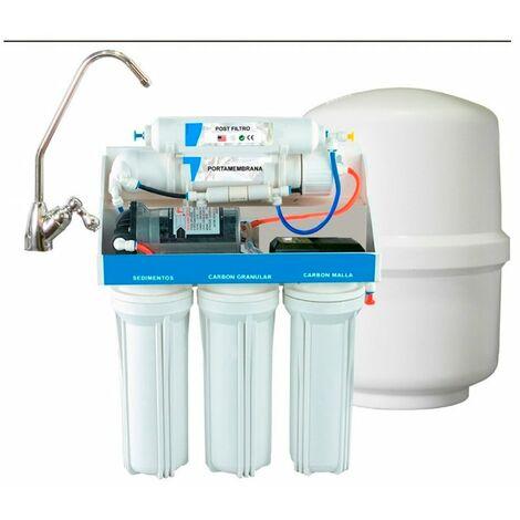 Depuradora de osmosis inversa con bomba