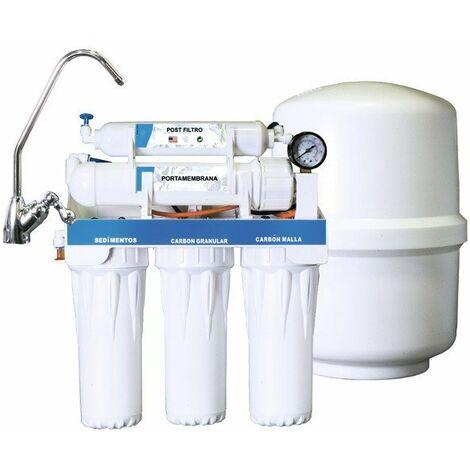 Depuradora osmosis inversa con manómetro