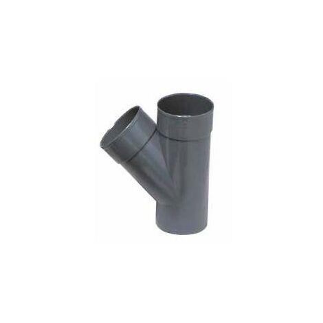 Derivación simple 45º M-H - CREARPLAST - Medidas: 315X45 mm.