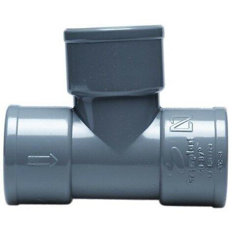 Derivación simple 87º H-H - CREARPLAST - Medidas: 315X87 mm.