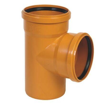 Derivación simple 87º M-H - CREARPLAST - Medidas: 315X87 mm.