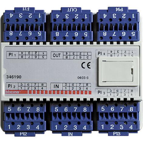 Derivateur Numerique 4 Postes Video 6 modules Din (346190)