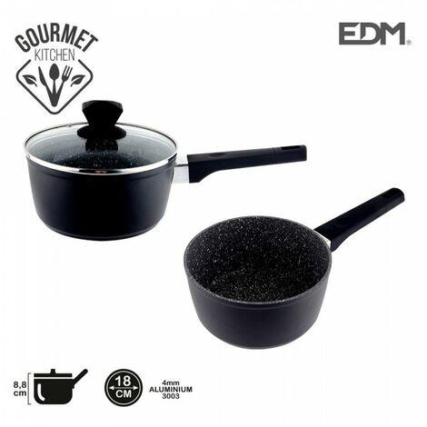 *derniere unites* casserole anti-adhésive ø18x8,5cm 4,2mm épaisseur professional line edm