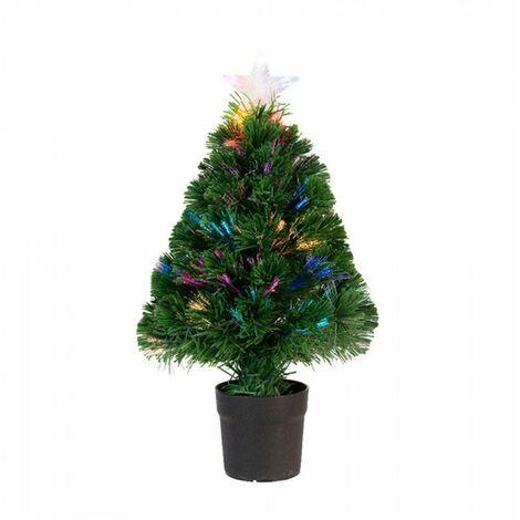 *dernières unités* arbre en fibre optique 55 branches 60cm 16 leds