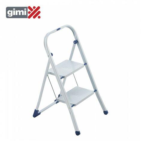 *dernières unités* tabouret escalier tiko 2 marches en acier max. 150kg gimi 154103