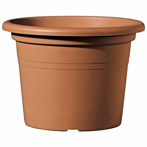 DEROMA Pot de fleurs rond Day R Cotto - 15 cm