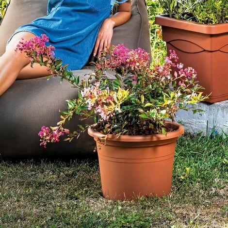 DEROMA Pot de fleurs rond Day R Cotto - 60 cm