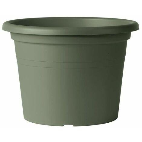 DEROMA Pot de fleurs rond Day R verde - Coloris vert - 30cm