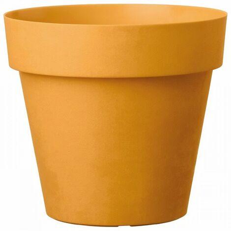 DEROMA Pot de fleurs rond Like Curry - 18 cm
