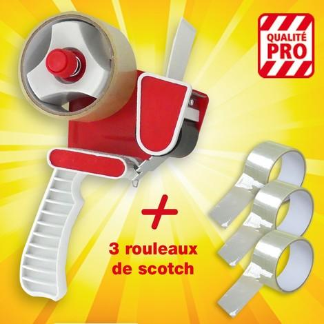 Dérouleur adhésif Pro + 3 recharges