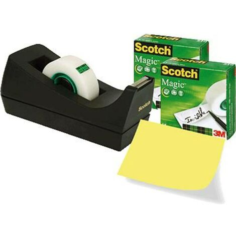 Dérouleur de bureau Scotch® Magic™ 810 3M SM3-12 mat (L x l) 33 m x 19 mm 3 pc(s)