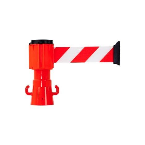 Dérouleur de sangle Rouge/Blanc pour cônes - Novap