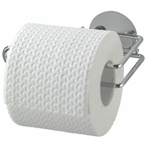 Dérouleur papier toilette à adhésifs- Accessoire sans trou ni vis