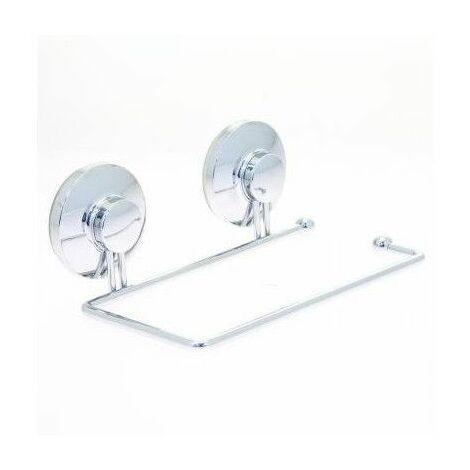 Dérouleur papier toilette avec ventouses - Fixer sans percer ni visser ! - Livraison gratuite