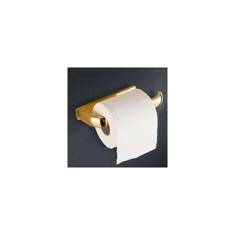Dérouleur papier toilette / tablette laiton