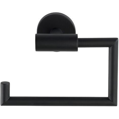 Dérouleur papier WC Bosio Black mat