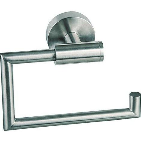 Derouleur WC Axial sans couvercle, inox mat avec fixation