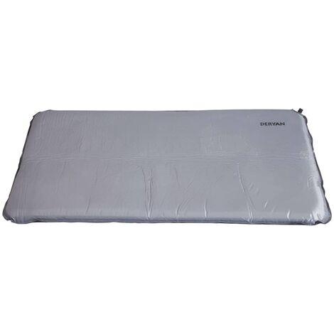 "main image of ""DERYAN Camping Bed Mattress 120x60x6 cm - Grey"""
