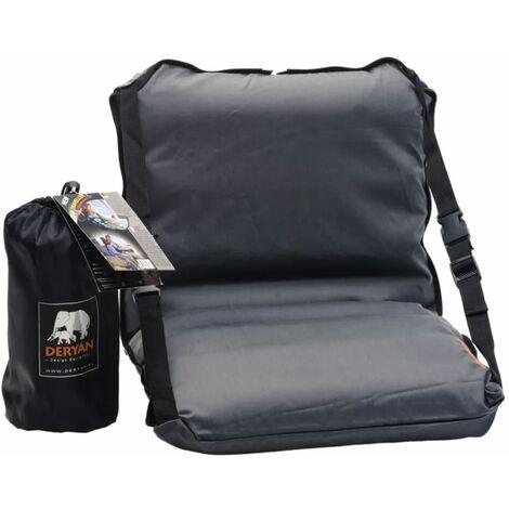 DERYAN Lit de voyage pour bébé Air Traveller 80 x 40 x 6 cm Noir