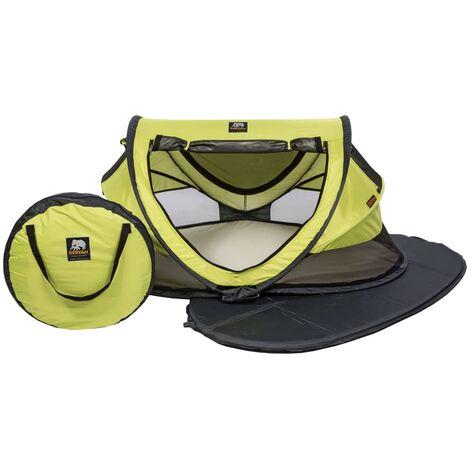 DERYAN Lit d'Enfant de Voyage avec Moustiquaire Tente de Voyage Bébé Portable Chambre à Coucher Maison Protection contre UV Multicolore