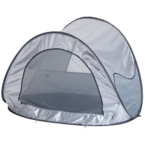 DERYAN Mosquito Pop-up Beach Tent 120x90x80cm Silver