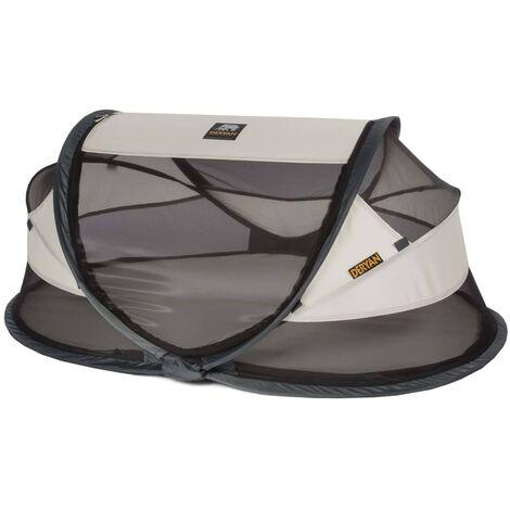 DERYAN Pop-up Travel Cot Baby Luxe with Mosquito Net Cream - Cream