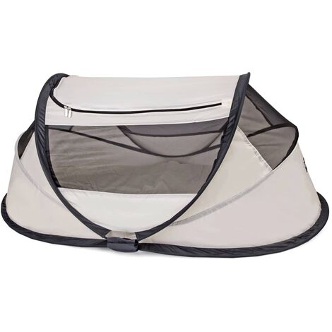DERYAN Pop-up Travel Cot BabyBox with Mosquito Net Cream