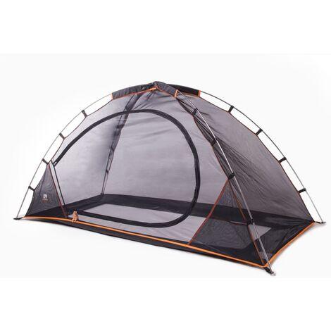 DERYAN Tente-lit avec moustiquaire 200x90x110 cm Noir