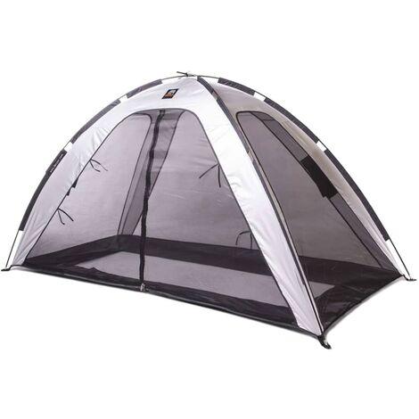 DERYAN Tente lit moustiquaire 200x90x110 cm Argenté