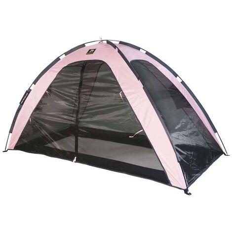 DERYAN Tente lit moustiquaire 200x90x110 cm Rose