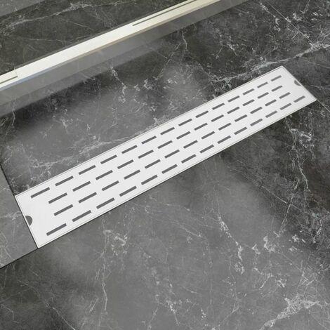 Desague lineal de ducha 630x140 mm acero inoxidable