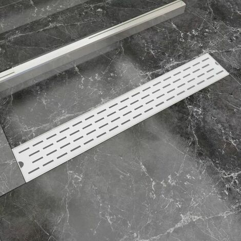 Desague lineal de ducha 730x140 mm acero inoxidable