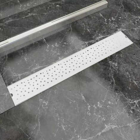 Desague lineal de ducha Bubble acero inoxidable 730x140 mm