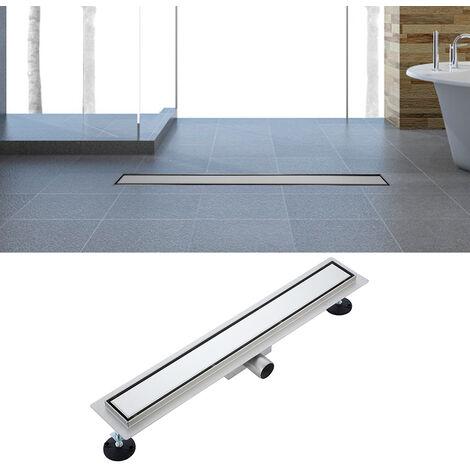 Desagüe de ducha de acero inoxidable desagüe de acero inoxidable, sumidero con sifón antiolores diseño moderno