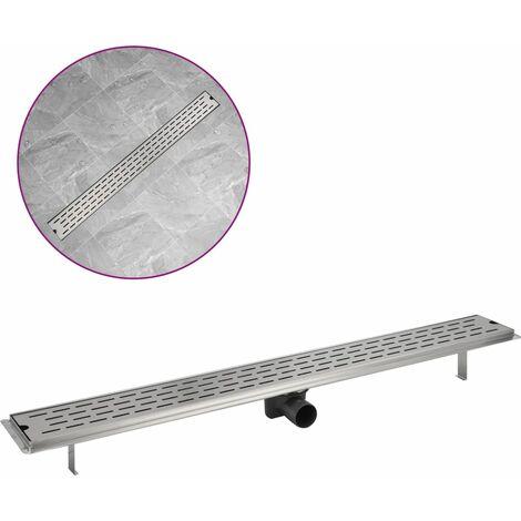 Desagüe lineal de ducha acero inoxidable 1030x140 mm