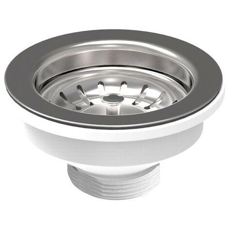 Desagüe para fregadero de la cocina OMP PP con orificio, de diámetro 90mm 133.505.6