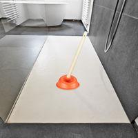 material PE herramienta de limpieza para desbloquear los fregaderos de cocina Zchui fregadero port/átil con ventosa f/ácil de limpiar reutilizable Desatascador de desag/ües con ventosa