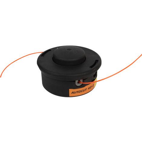 Desbrozadora con cabezal de corte, Cabezal de la cortadora de cesped Razor Cabezal de corte,12*1.5mm