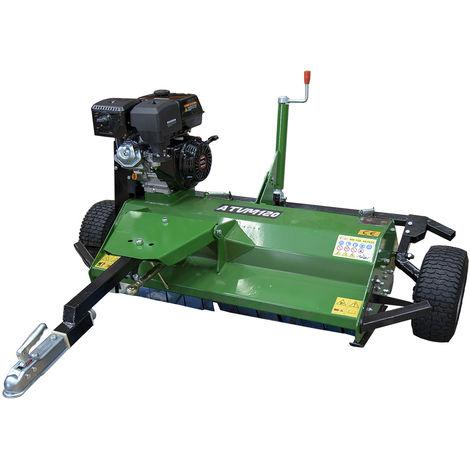 Desbrozadora para ATV Loncin 15 CV con gasolina con altura de corte 1,2 m