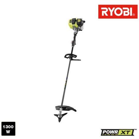 Desbrozadora térmica RYOBI 1300W - Motor de 2 tiempos 47cm3 RBC47SEO