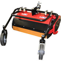 Desbrozadora trituradora de cuchillas para Motocultor Kawapower con embrague hidráulico.
