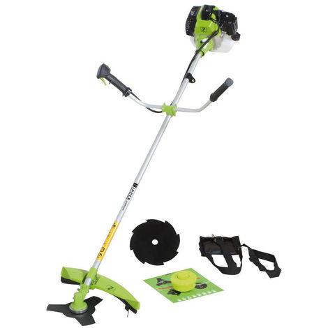Desbrozadora Zipper ZI-MOS145G cortacesped cortadora de hierva desmalezadora