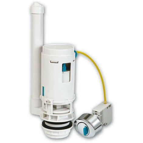 Descarga ahorro de agua para cisterna con doble pulsador con cable Habitex