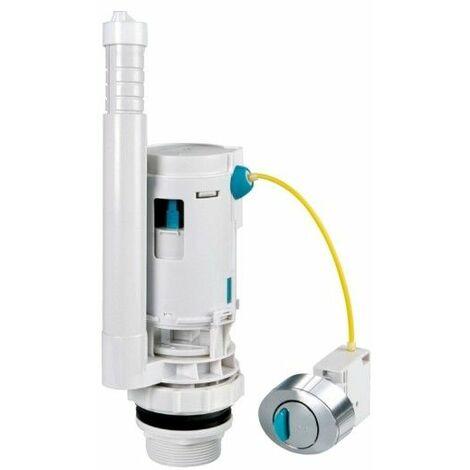 Descarga Cisterna Inodoro Doble 2Pulsadores Ahorro/Agua Aqcontrol Orfesa