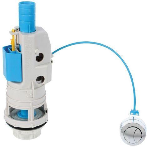 Descarga Cisterna Inodoro Doble Univ Push Able T-280s Tecnoa