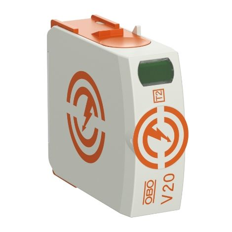 Descargador sobretensiones V20 parte activa V20-0-280 OBO 5095364
