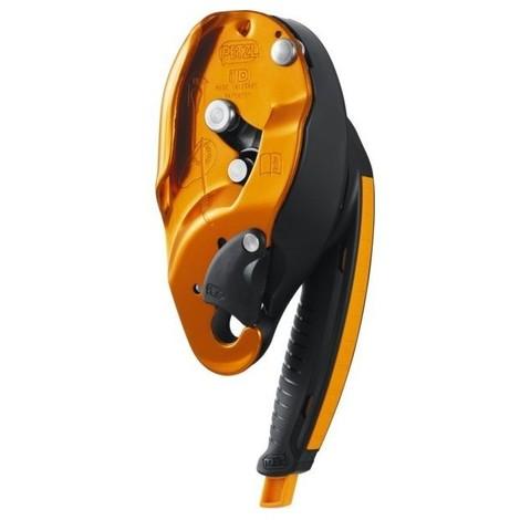 Descendeur i'd s pour corde diam 10-11.5 mm fonction auto freinante